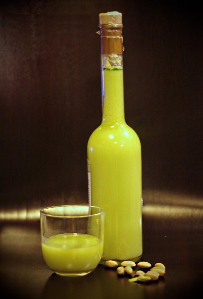 Liquore Al Pistacchio Pistacchio Valle Del Platani Pistacchio