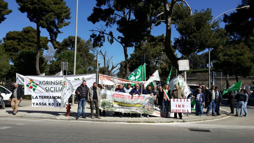 protesta imu agricola