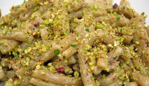 pasta pesto tonno e pistacchio