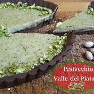 """Torta al Pistacchio """"La Deliziosa"""" – Crostata al Cacao e Pistacchio della Valle del Platani"""
